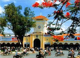 Image result for Chợ Bến Thành ngày xưa truoc 1975